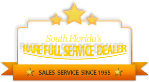 South Florida's Rare Full Service Dealer